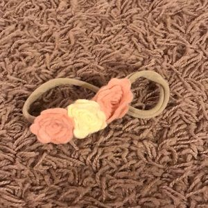 Other - Adorable floral baby bow